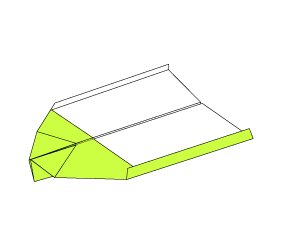Origami Airplane Instructions – How to Make Paper Airplanes Type-3