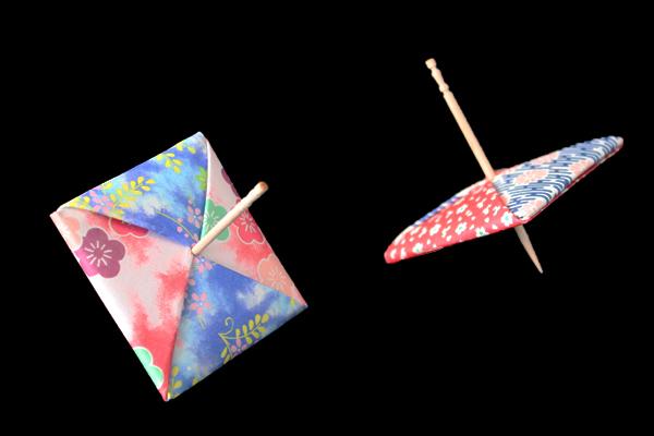 ハート 折り紙 折り紙 こま つまようじ : origamijapan.net