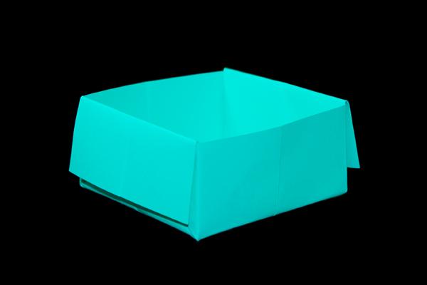 クリスマス 折り紙 折り紙 箱 簡単 : origamijapan.net