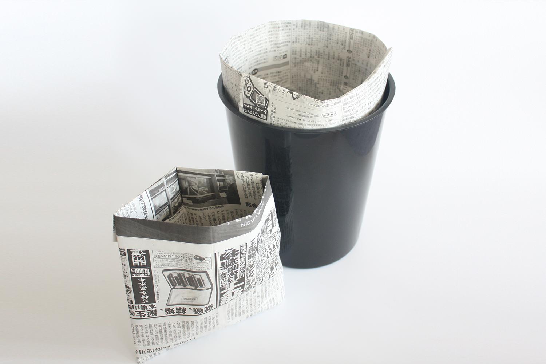 作り方 チラシ ゴミ箱 おしゃれ