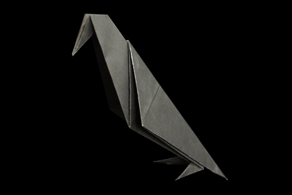 Crow | Easy origami instructions and diagram