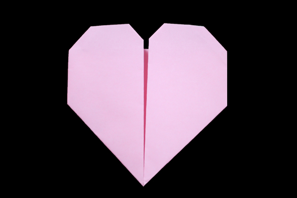 Heart | Easy origami instructions and diagram