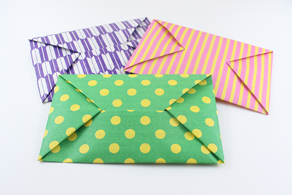 Origami Envelope Instructions And Diagram Easy 8 Steps