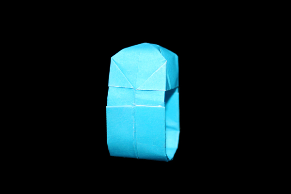 Ring   100 Easy origami instructions and diagram