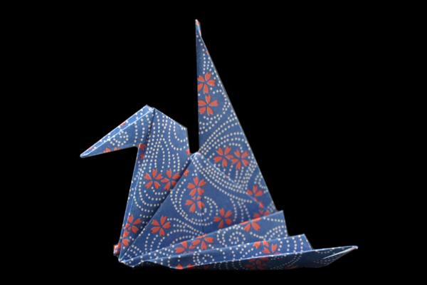 origami crane step by step | Origami crane tutorial, Origami paper ... | 400x600