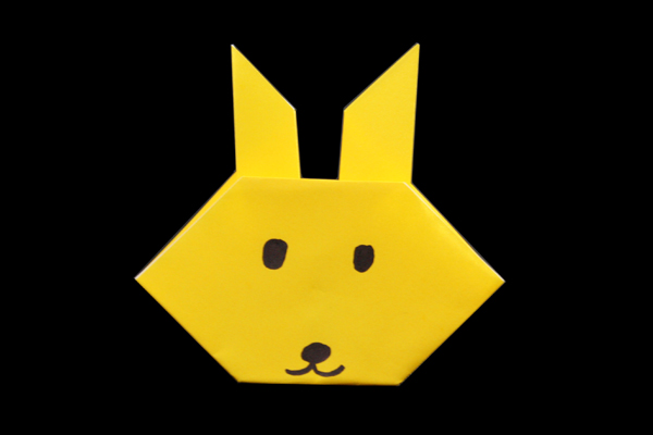 How to Make a Traditional Origami Rabbit | 400x600