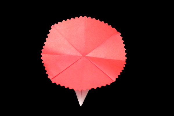 Carnation | Easy flower origami instructions and diagram
