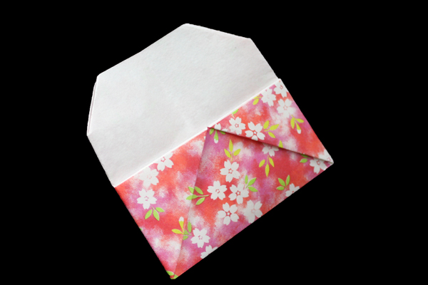 Card Case | Easy origami instructions and diagram