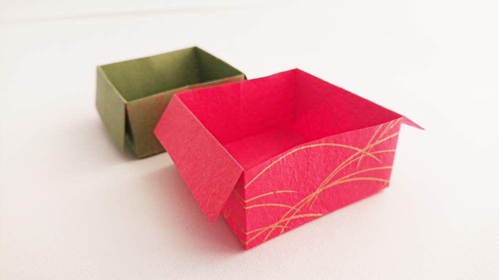 How to make an origami box | Easy instructions and diagram