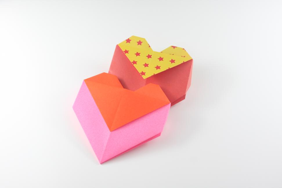 Heart Envelope | Easy origami instructions and diagram