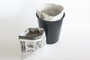 paper garbage bags | Easy origami instructions and diagram