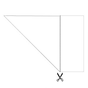 How to Make a Square from Rectangular Paper.