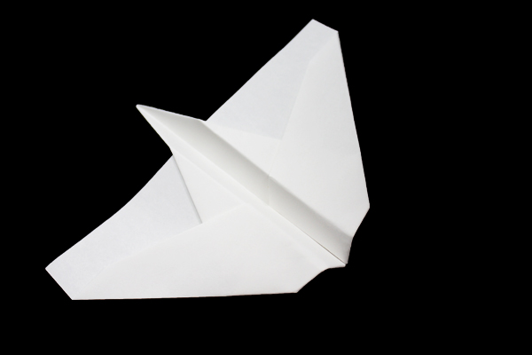 Paper Airplanes easy instructions and diagram.