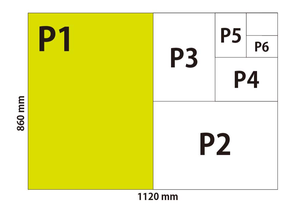 Dimensions of Canadian Paper Sizes   P1, P2, P3, P4, P5, P6